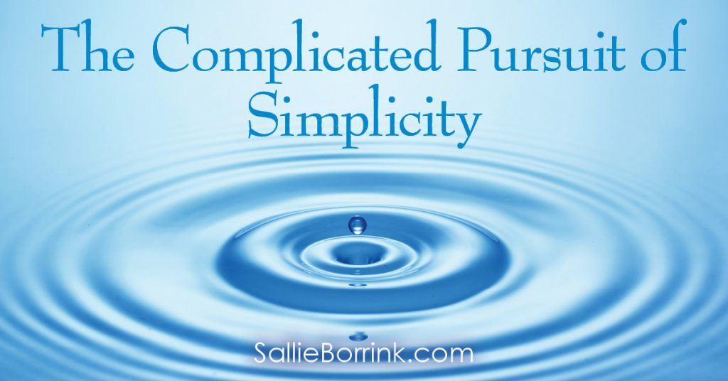 The Complicated Pursuit of Simplicity 2