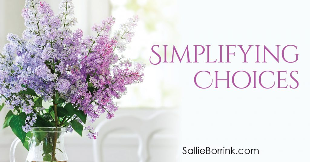 Simplifying Choices 2