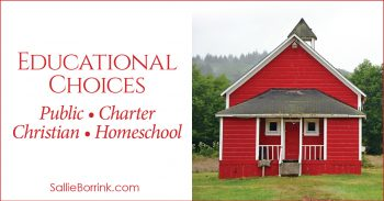 Educational Choices - Public School, Charter School, Christian School, and Homeschool 2