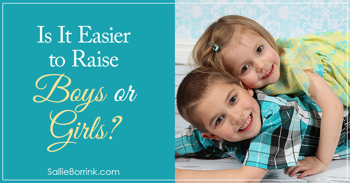 Is It Easier to Raise Boys or Girls?