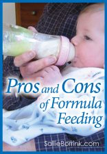 Pros and Cons of Formula Feeding