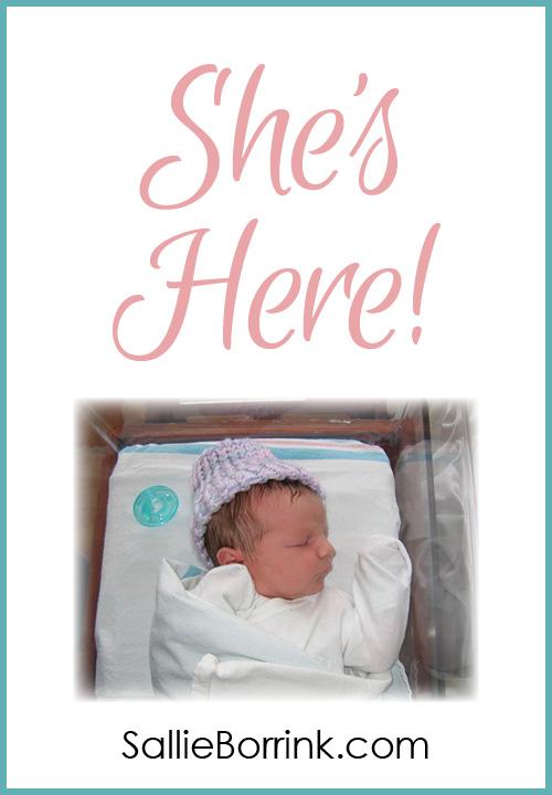 She's here!