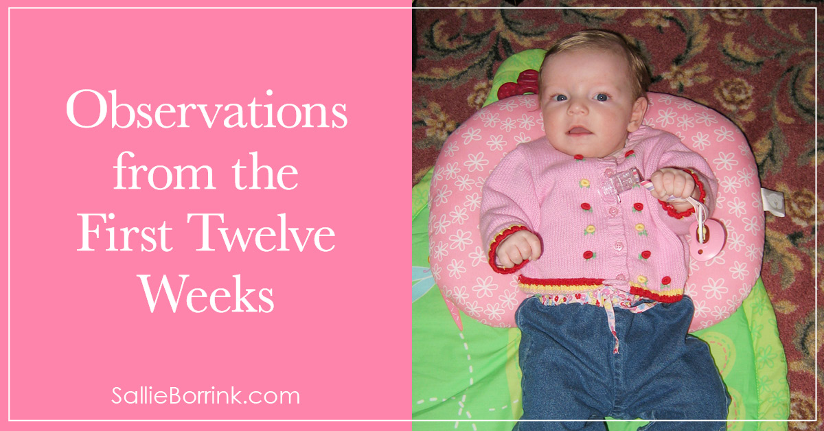 Observations from the First Twelve Weeks 2
