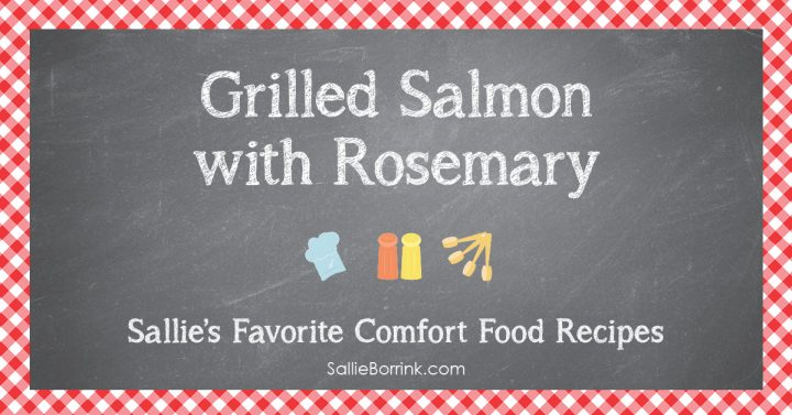 Grilled Salmon with Rosemary 2