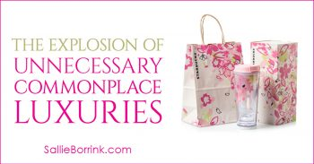 The Explosion of Unnecessary Commonplace Luxuries 2