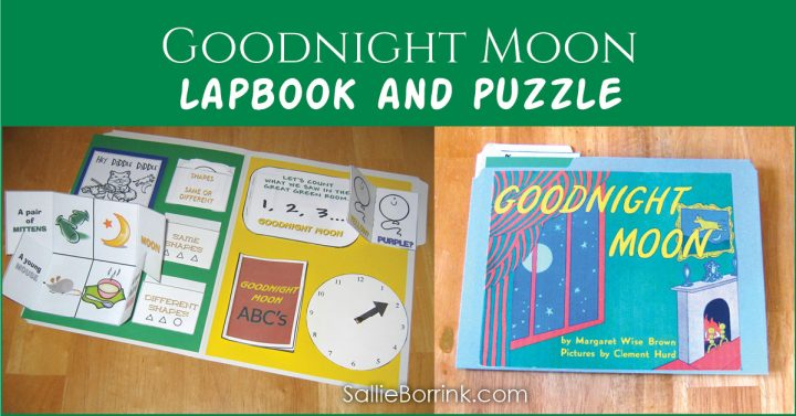 Goodnight Moon Lapbook and Puzzle 2