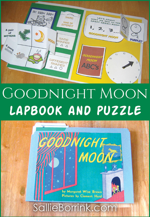Goodnight Moon Lapbook and Puzzle