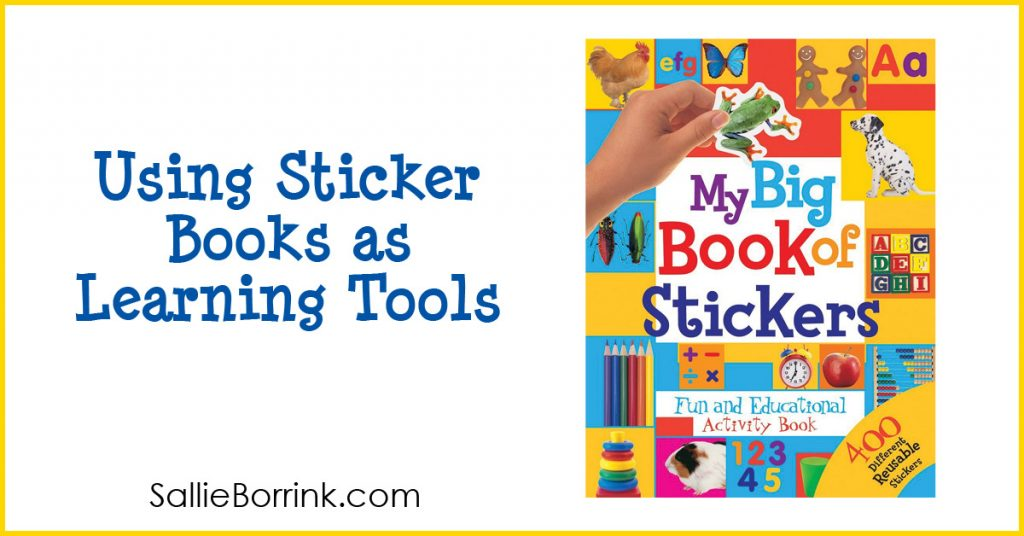 Using Sticker Books as Learning Tools 2