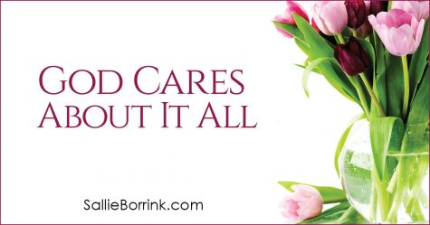 God Cares About It All 2