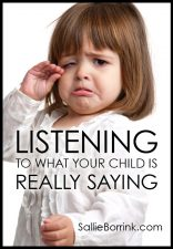 Listening to What Your Child is Really Saying