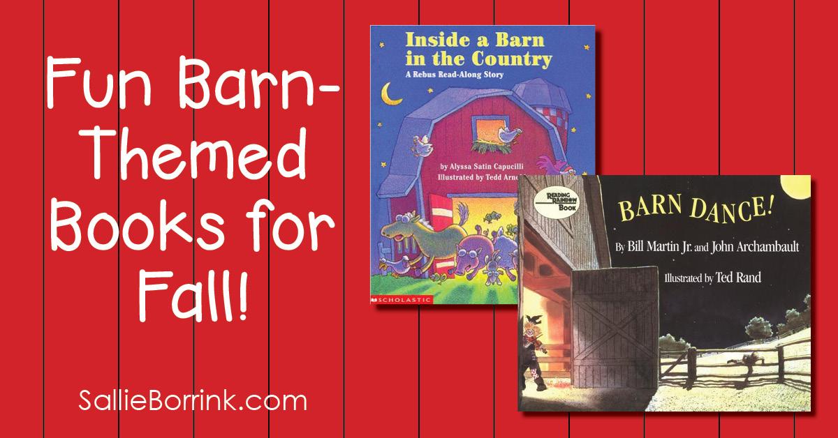 Fun Barn-Themed Books for Fall 2