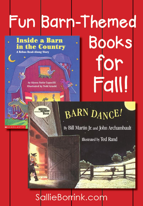 Fun Barn-Themed Books for Fall