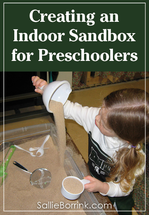 Creating an Indoor Sandbox for Preschoolers