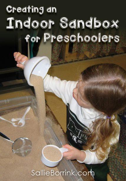 Creating an Indoor Sandbox for Preschoolers