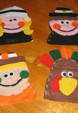 Cute Thanksgiving puppet kit from Hobby Lobby