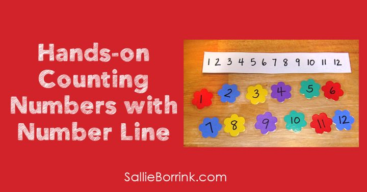 Hands-on Counting Numbers with Number Line 2