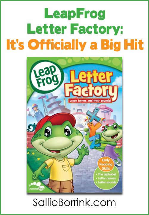 LeapFrog Letter Factory - It's Officially a Big Hit