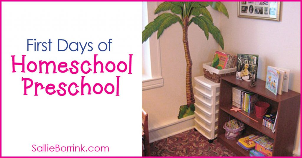 First Days of Homeschool Preschool! 2