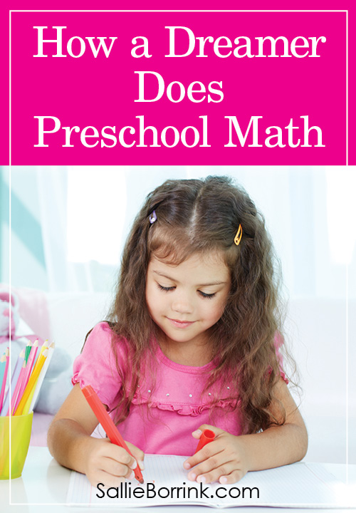 How a Homeschooled Dreamer Does Preschool Math