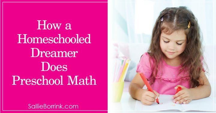 How a Homeschooled Dreamer Does Preschool Math 2