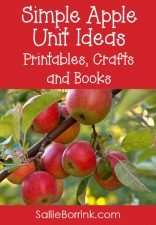 Simple Apple Unit Ideas - Printables, Crafts, and Books