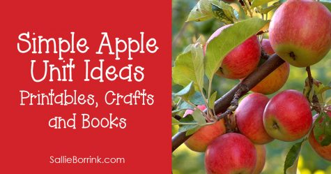 Simple Apple Unit Ideas Printables, Crafts and Books 2