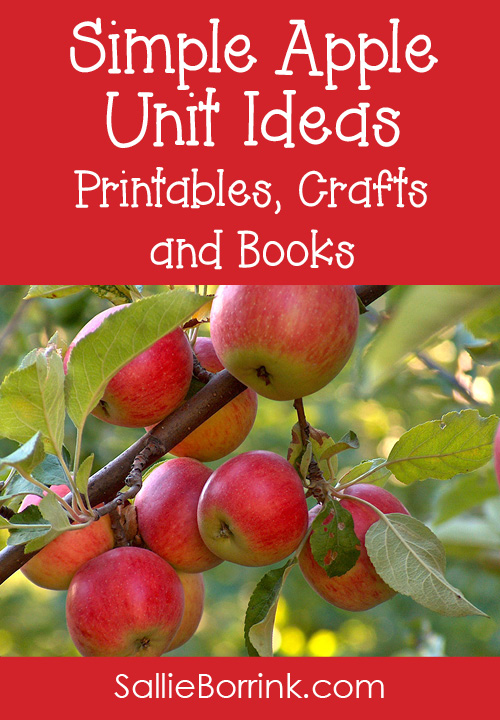 Simple Apple Unit Ideas Printables, Crafts and Books