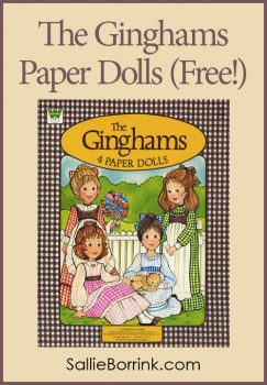 The Ginghams Paper Dolls (Free!)