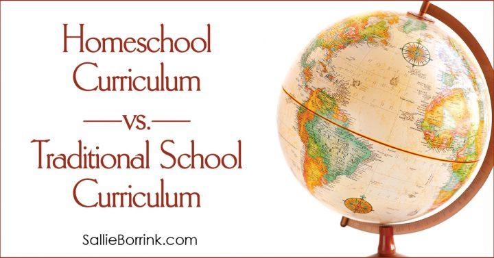 Homeschool Curriculum vs. Traditional School Curriculum 2
