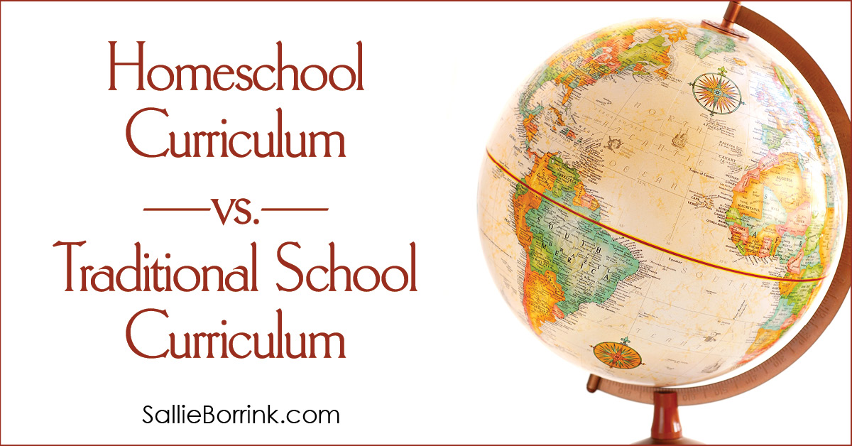 Homeschool Curriculum vs. Traditional School Curriculum 2