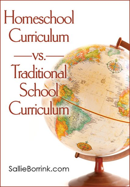 Homeschool Curriculum vs. Traditional School Curriculum