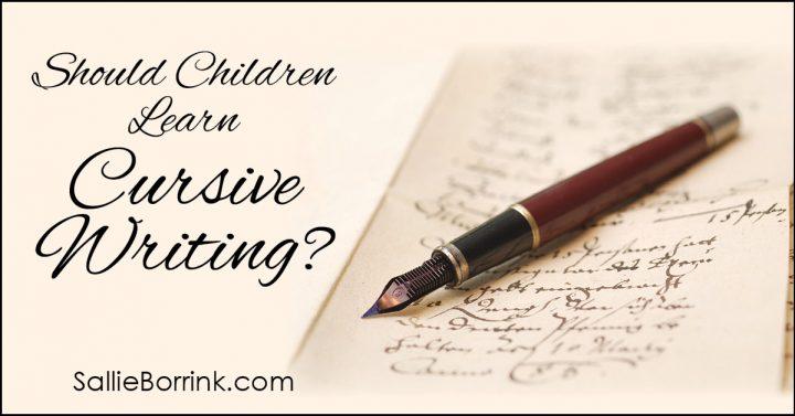 Should children learn cursive writing 2