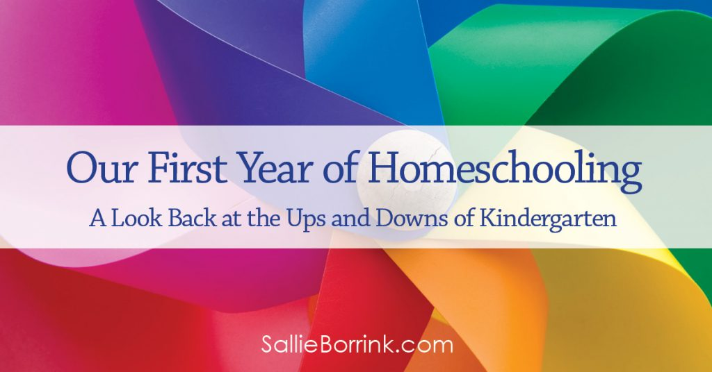 Our First Year of Homeschooling – A Look Back at the Ups and Downs of Kindergarten 2