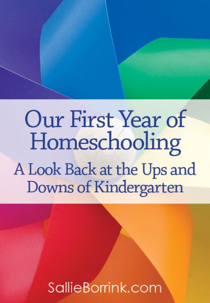 Our First Year of Homeschooling – A Look Back at the Ups and Downs of Kindergarten