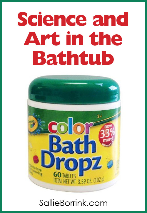 Science and Art in the Bathtub with Crayola Color Bath Dropz