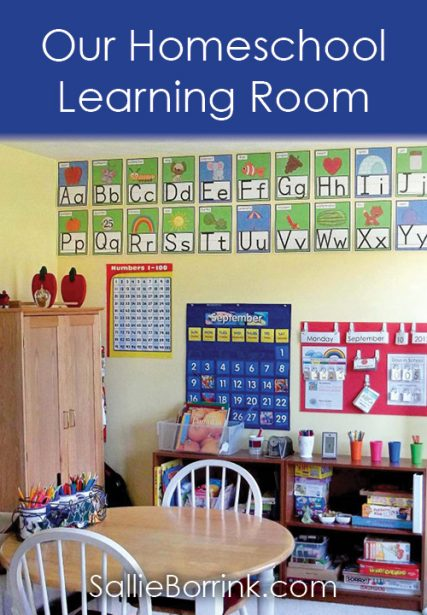 Our Homeschool Learning Room