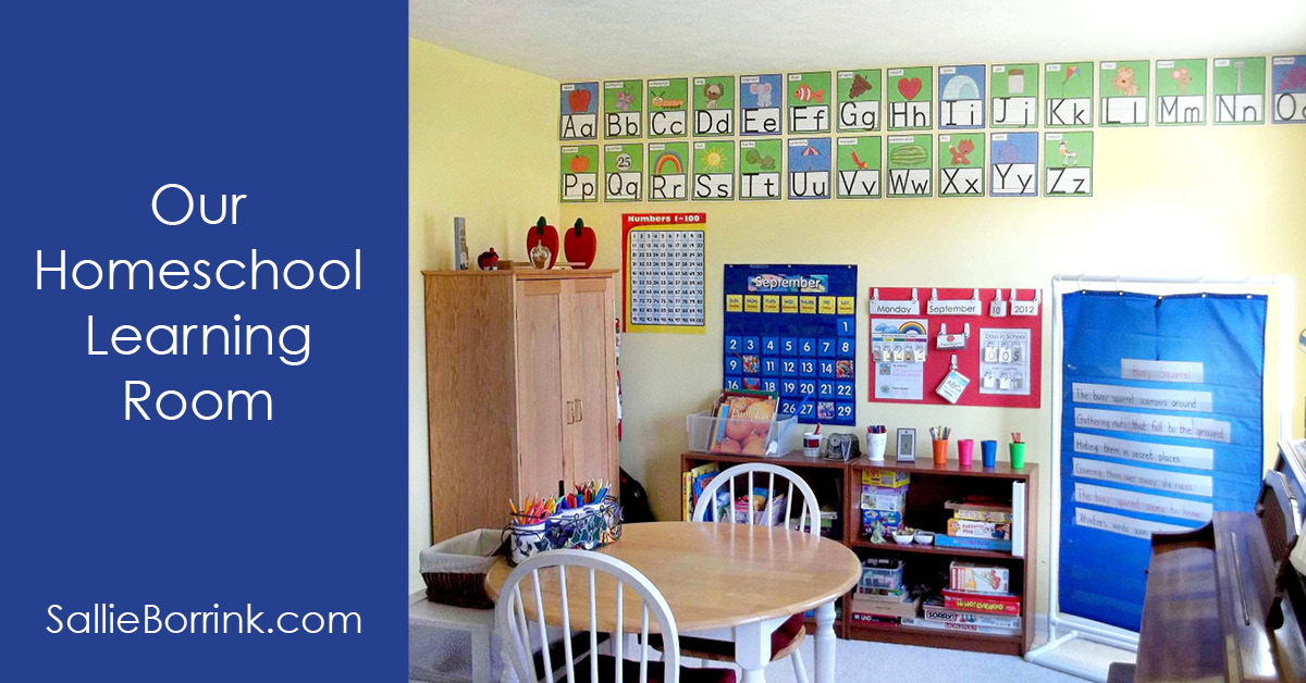 Our Homeschool Learning Room 2