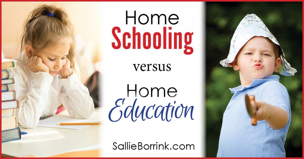 Home Schooling versus Home Education 2