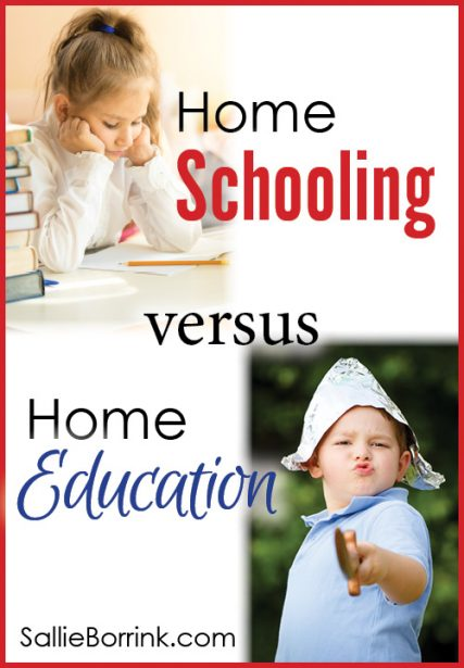 Home Schooling versus Home Education