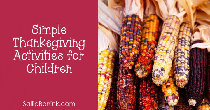 Simple Thanksgiving Activities for Children 2