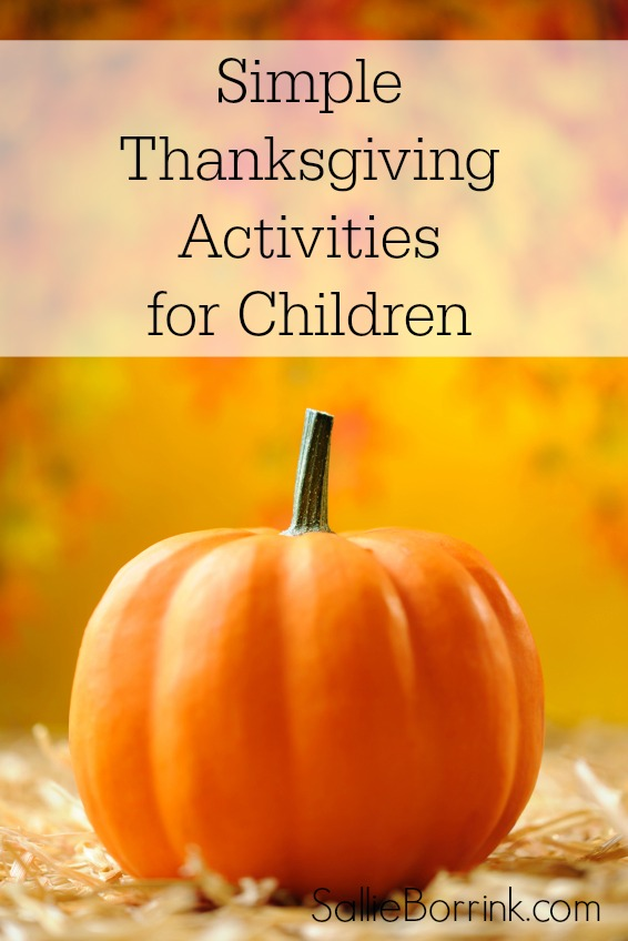 Simple Thanksgiving Activities for Children