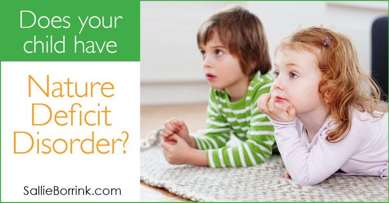 Does your child have Nature Deficit Disorder 2