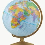 Geography made easy with maps and a globe