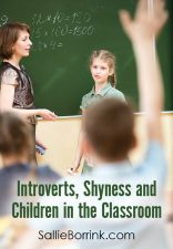 Introverts, Shyness and Children in the Classroom