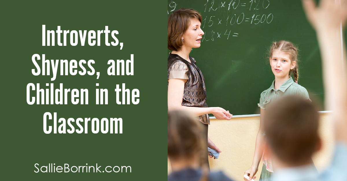 Introverts, Shyness and Children in the Classroom 2
