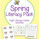Spring Literacy Centers Learning Pack – Eight Reading and Writing Activities