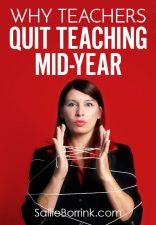 Why Teachers Quit Teaching Mid-Year