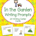 In the Garden Writing Prompts – 23 Writing and Literacy Center Cards