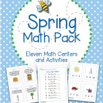 Spring Math Pack – Eleven Centers and Activities