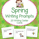 Spring Writing Prompts – 23 Writing and Literacy Center Cards